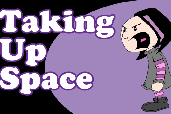 Taking Up Space Comic